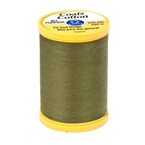 - Coats & Clark General Purpose Cotton 225 YD Bronze Green