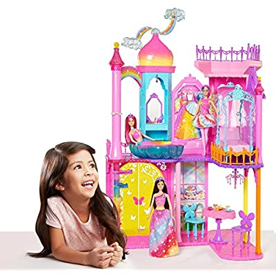 Barbie Rainbow Cove Castle Playset: Toys & Games