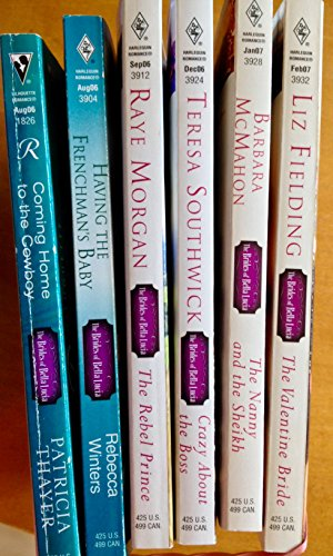 6 books in the BRIDES OF BELLA LUCIA series