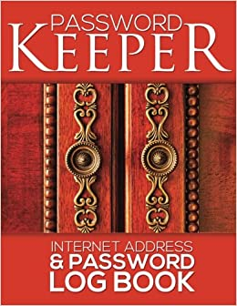 amazon password keeper internet address password log book