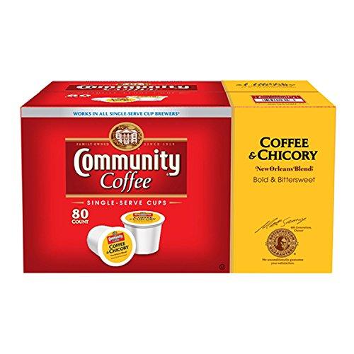 Cheap Community Coffee Single Serve 80 ct (Coffee & chicory Medium roast)