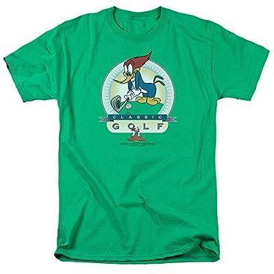 Woody Woodpecker Animated Cartoon Character Classic Golf Adult Mens T-Shirt Tee