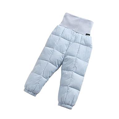 Deylaying Hiver Nouveau Née Bébé Filles Garçon vers Le Bas Pantalon Garder  au Chaud Haute Taille 722e33f77d8