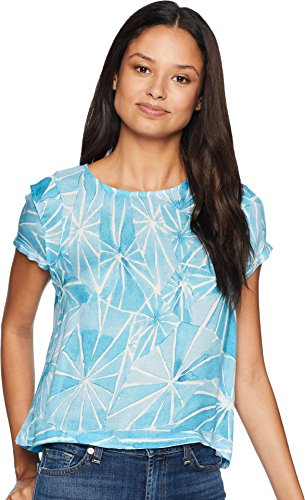 RVCA Junior's Shutter TOP, Blue Crest, S