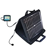 Maylong FD-250 GPS For Dummies compatible SunVolt Portable High Power Solar Charger by Gomadic - Outlet- speed charge for multiple gadgets