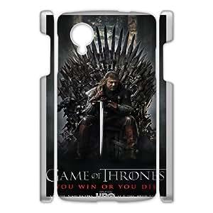 Well Design Google Nexus 5 phone case - design withGame of Thrones pattern