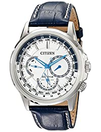 Citizen Men's Calendrier BU2020-02A Wrist Watches, White Dial