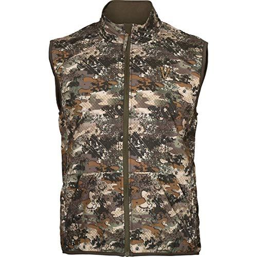 Rocky Men's Venator Camo Insulated Vest, Rocky Venator Black, XL