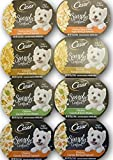 Cesar Simply Crafted Dog Food Variety Bundle – 4 Flavors, 2 of Each Flavor. 8 Total 1.3 oz Tubs