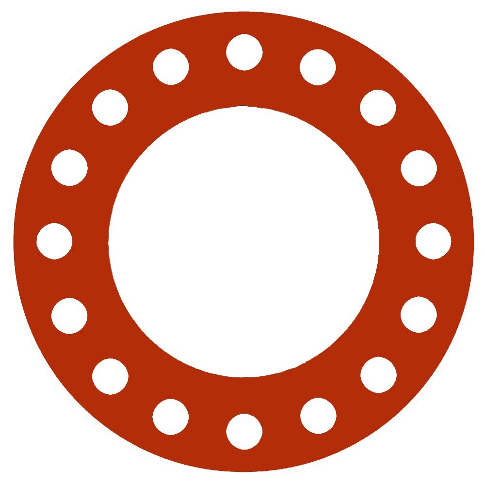 """1//8/"""" Thick New 6/"""" 150# EPDM Full Face Gasket"""