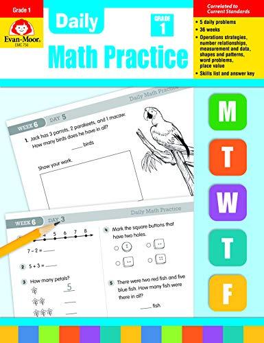 Evan-Moor Daily Math Practice, Grade 1