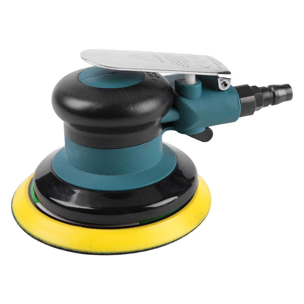 Exzenterschleifer Schleifmaschine Air Sander Polierwerkzeug zum Schleifen und Polieren von Kunststeine M/öbel Metalle usw Druckluft Schleifer Holzprodukte