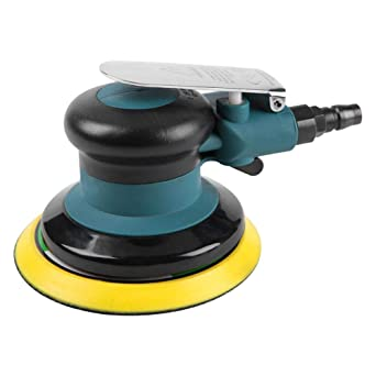 Lucidatrice angolare per auto 10000 RPM Lucidatrice Levigatrice Lucidatore per Automobile Professionale Rettificatrice per lucidatura pneumatica 5inch Pad abrasivo