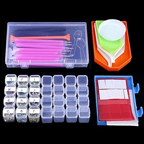MACTING 68pcs Diamond Painting Pen Cross Stitch Tool 5D Update Diamond Painting Kits for DTY Art Craft
