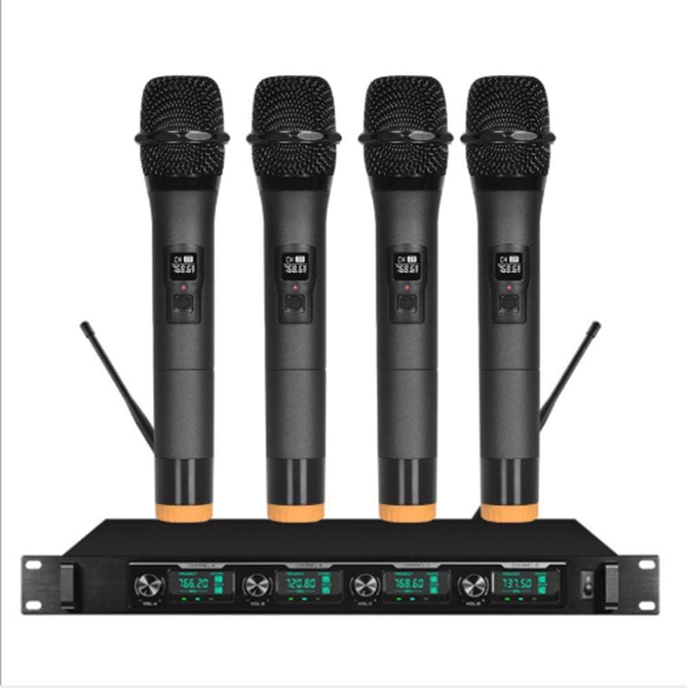 ONLYU Receptor Sistema de micrófono micrófono de Karaoke ...