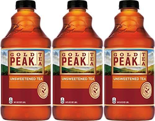 Bottled Tea & Tea Drinks: Gold Peak Unsweetened Tea