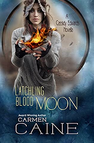 book cover of Latchling Blood Moon