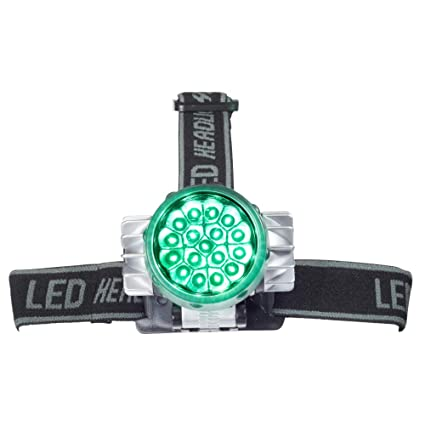 AgroLED Green Flashlight Lamp 2-in-1 LED Light System 4 Watts Rechargeabable