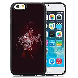New Personalized Custom Designed For iPhone 6 4.7 Inch TPU Phone Case For Bruce Lee Phone Case Cover