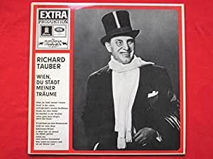 Tauber, Richard Wien Du Stadt Meimer Traume LP Odeon 074121 EX/EX 1960s green label, made in Germany