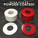 (12) Powder Coated Replacement 2-1/2' Washer Toss Pitching Game Washers - High Gloss!