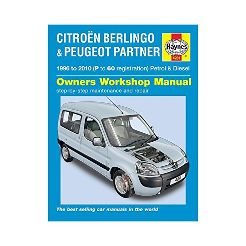 Citroen Berlingo & Peugeot Partner Petrol & Diesel: 1996 to 2010 (Haynes Service and Repair Manuals)