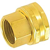 Gilmour 7FPS7FH Double Female Swivel  Brass Connector, 3/4-Inch by 3/4-Inch