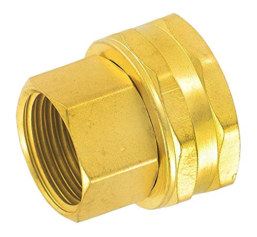 - Gilmour 3/4-Inch Brass Double Female Swivel Hose Connector 7FPS7FH