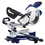 DOIT 15-AMP 10-Inch Sliding Single-Bevel Compound Miter Saw with Laser Marker