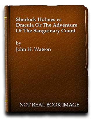 book cover of Sherlock Holmes vs. Dracula