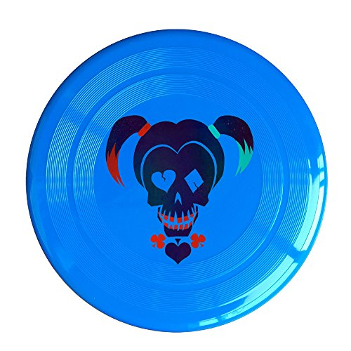 ZZYY Fashion Frisbee Comfortable Girls Disc Sports Suicide Squad Harley Quinn Single Unit RoyalBlue