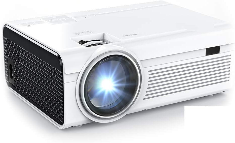 Proyector, 5200 Lumens Mini Proyector portátil Compatible con ...