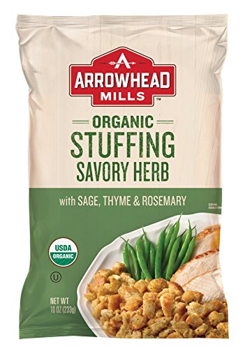 Arrowhead Mills Organic Stuffing, Savory Herb, 10 oz. Bag (Pack of 12)
