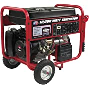 All Power America APGG10000C, 8000 Running Watts/10000 Starting Watts, Gas Powered Portable Generator