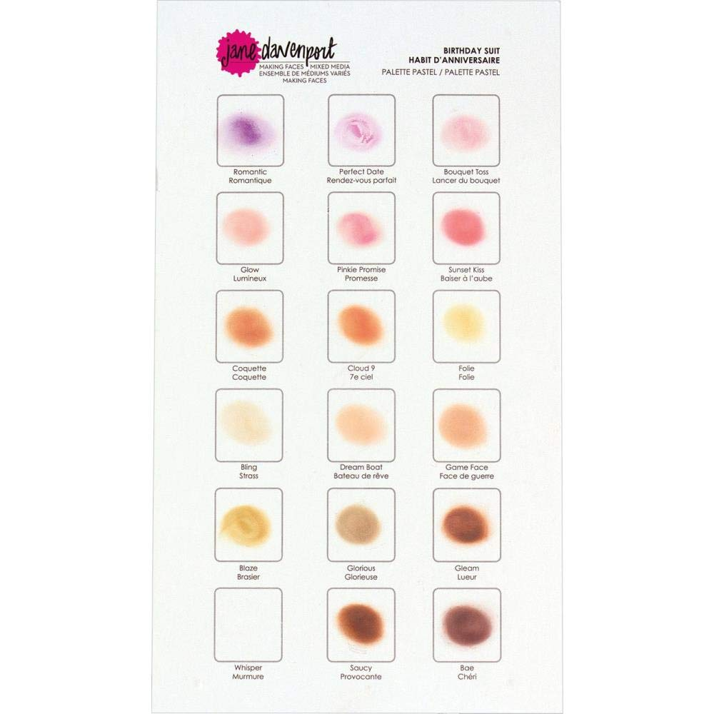 Amazon.com: Jane Davenport - Foundation Layer Stencil Set ...