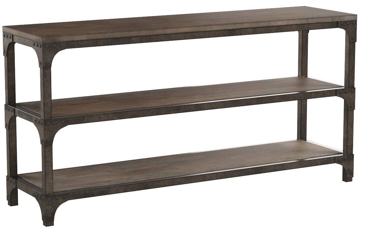 Acme Furniture 72685 Gorden 60'' Server, Weathered Oak Antique Silver by Acme Furniture