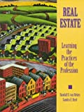 img - for Real Estate: Learning the Practices of the Profession by Randall S. Van Reken (1997-08-06) book / textbook / text book