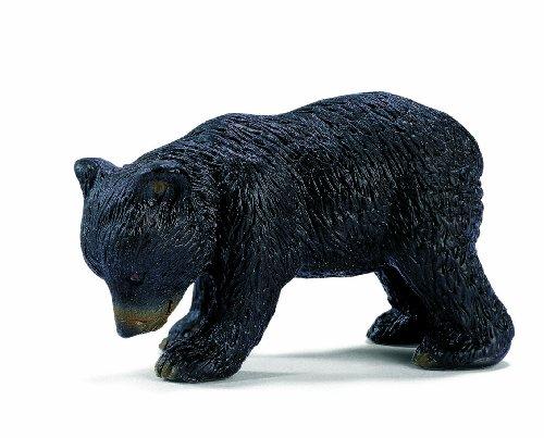 Schleich North America Bear Cub, Black - North American Black Bear