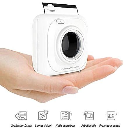 NAMENLOSE Mini Impresora para teléfonos Inteligentes Impresora de ...
