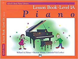 Book Alfred's Basic Piano Course Lesson Level 1A with CD: Universal Edition (Alfred's Basic Piano Library) by Palmer, Manus and Lethco (1993)