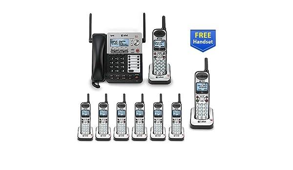 AT & T SB67138 + SB67108 9 Teléfono Cable de línea de teléfono inalámbrico paquete de (4): Amazon.es: Electrónica