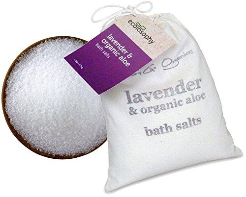 Lavender & Organic Aloe Bath Salts