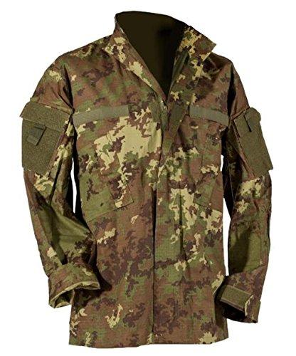 All Diversi combattimento a protezione Vegato Camouflage caduta S uniforme vento di e In 3 Essi la Acu campo contro l'umidità Parka Colori giacca Digital x L YxwtU