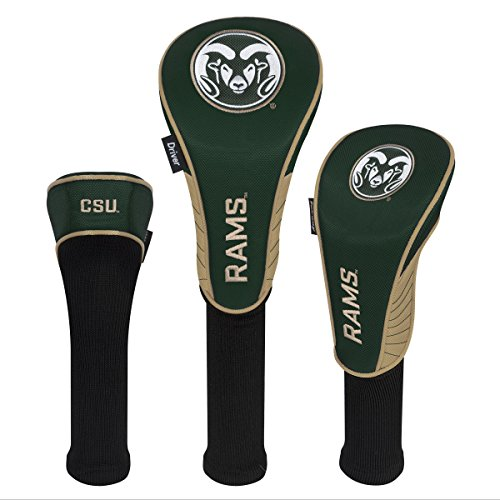 (Team Effort Colorado State Rams Set of Three Headcovers)