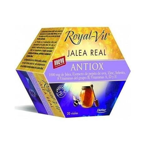 Jalea Real Antiox Royal-Vit 20 viales de Dietisa