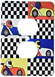 Best 3dRose Boy Stuffs - 3dRose lsp 25340 6 Boy Stuff Blue Red Review