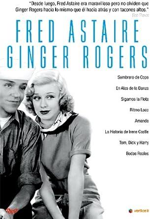Fred Astaire Ginger Rogers Sombrero De Copa En Alas De La Danza Sigamos La Flota Ritmo Loco Amanda La Historia De Irene Castle Tom Dick Y