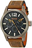 BOSS Orange Men's 1513240 PARIS Japanese Quartz Brown Watch with Analog Display