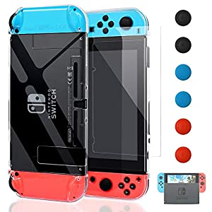 Best Epic Trends 512uPTqtc8L._SS300_ Dockable Cover Case for Nintendo Switch, FYOUNG Protective Case for Nintendo Switch with Screen Protector for Nintendo…