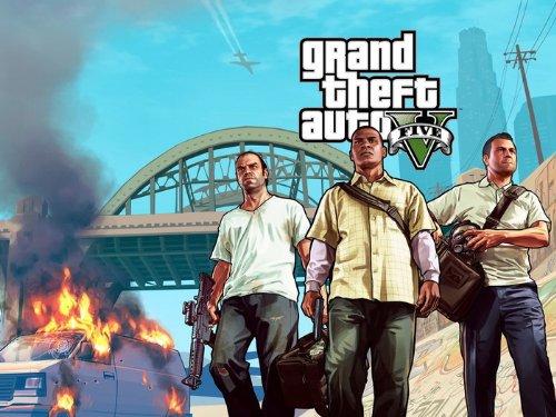DJ3618 Grand Theft Auto V GTA 5 Art Video Game 32x24 Print POSTER